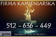 Zdjęcie do ogłoszenia: Tanie nagrobki OLKUSZ, ZAWIERCIE TELEFON; 512-636-449