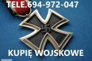 Zdjęcie do ogłoszenia: KUPIE ODZNACZENIA,ODZNAKI,MEDALE,ORDERY STARE WOJSKOWE TELEFON 694972047