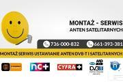 Zdjęcie do ogłoszenia: Montaż Anteny ustawianie Anten SAT oraz TV naziemnej Dvbt Dyminy i okolice