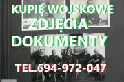 Zdjęcie do ogłoszenia: KUPIE WOJSKOWE STARE DOKUMENTY,ZDJĘCIA,LEGITYMACJE TELEFON 694972047