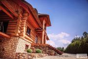 Zdjęcie do ogłoszenia: Płytki z kamienia na dom z drewna