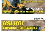 Zdjęcie do ogłoszenia: Roboty Ziemne Koparko Ładowarka Żyglin Miasteczko Śląskie ożarowice