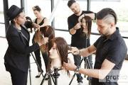 Zdjęcie do ogłoszenia: NOWOCZESNE TECHNIKI KOLORYZACJI WŁOSÓW fryzjerstwo włosy koloryzacja