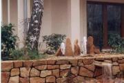 Zdjęcie do ogłoszenia: Kamień do budowy ogrodzeń na ogrodzenia mury murki skalne piaskowiec