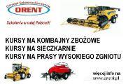 Zdjęcie do ogłoszenia: Uprawnienia na kombajn zbożowy sieczkarnie prasy ładowacze Osielsko