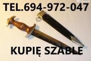 Zdjęcie do ogłoszenia: KUPIE WOJSKOWE STARE SZABLE,BAGNETY,MEDALE TELEFON 694972047