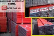 Zdjęcie do ogłoszenia: Podest drewniany 2,5m Sigma70P do rusztowania elewacyjnego