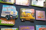 Zdjęcie do ogłoszenia: pojazdy dla najmłodszych dzieci bajki wierszyki 9 książek