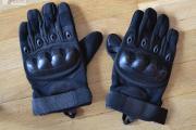 Zdjęcie do ogłoszenia: Rękawice taktyczne wojskowe militarne czarne (black) pełne palce