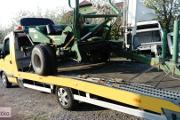 Zdjęcie do ogłoszenia: transport bron pługów owijarek zagrabiarek agregatów roztrzasaczy Cegłów/Mrozy 510-034-399 laweta przewóz maszyn rolniczych