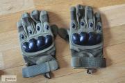 Zdjęcie do ogłoszenia: Rękawice taktyczne wojskowe militarne zielone (army green) pełne palce
