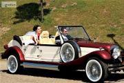 Zdjęcie do ogłoszenia: Zabytkowe samochody do ślubu Cabriolet na wesele Najładniejsze auta na ślub RETRO samochód Wypożyczalnia limuzyn ślubnych Nestor Spider