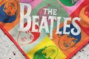Zdjęcie do ogłoszenia: THE BEATLES/ Oryginalna apaszka zespołu The BEATLES z Londynu/perełka VINTAGE