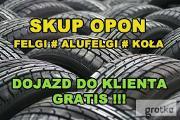 Zdjęcie do ogłoszenia: Skup Opon Alufelg Felg Kół Nowe Używane Koła Felgi # Śląsk # KŁOBUCK