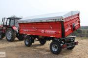 Zdjęcie do ogłoszenia: Przyczepa / Przyczepy rolnicza dwuosiowa T710 6t lub 8t METAL-FACH