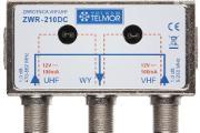 Zdjęcie do ogłoszenia: Zwrotnica antenowa VHF i UHF ZWR-210DC Telmor Kielce