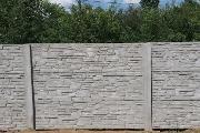 Zdjęcie do ogłoszenia: Ogrodzenie z płyt betonowych / Augustów