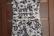 Zdjęcie do ogłoszenia: Sukienka granatowo-biała rozm 38