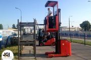 Zdjęcie do ogłoszenia: Kurs wózki widłowe, wysokiego składowania. Poddębice, Turek. Egzamin UDT.