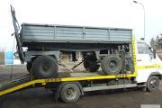 Zdjęcie do ogłoszenia: Transport lawetą beczkowozów maszyn rolniczych Siennica