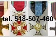 Zdjęcie do ogłoszenia: Kupie sre ordery, medale,odznaki,odznaczenia tel. 518-507-460