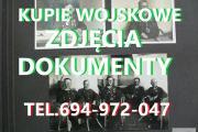 Zdjęcie do ogłoszenia: KUPIĘ WOJSKOWE STARE DOKUMENTY ZDJĘCIA,LEGITYMACJE,DYPLOMY