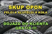 Zdjęcie do ogłoszenia: Skup Opon Alufelg Felg Kół Nowe Używane Koła Felgi # OPOLSKIE # PRASZKA