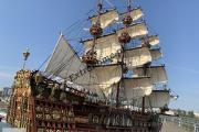 Zdjęcie do ogłoszenia: Drewniana Replika statku żaglowca Sovereign Of the Seas 75cm