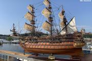 Zdjęcie do ogłoszenia: Drewniana replika statku SAN FELIPE 97cm