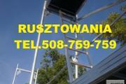 Zdjęcie do ogłoszenia: RUSZTOWANIA RAMOWE już od 100m2 - 2000m2 od ręki Producent Rusztowań