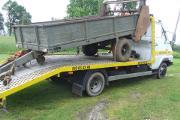 Zdjęcie do ogłoszenia: transport lawetą przyczep rozrzutników maszyn rolniczych Kałuszyn