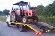 Zdjęcie do ogłoszenia: Transport ciągników rolniczych laweta Siennica