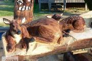 Zdjęcie do ogłoszenia: Ukraina. Rekodzielo drewniane regionalne. Przedmioty artystyczne,dekor