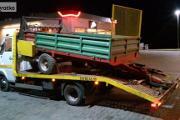 Zdjęcie do ogłoszenia: Transport laweta maszyn rolniczych ciągników rozrzutników przyczep