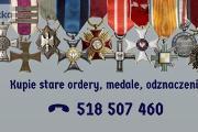 Zdjęcie do ogłoszenia: Kupie stare ordery,medale,odznaki,odznaczenia tel.58-507-460