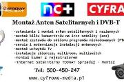 Zdjęcie do ogłoszenia: Montaż ANTEN KAŹMIERZ, PAMIĄTKOWO, Cerekwica TEL: 500-450-247