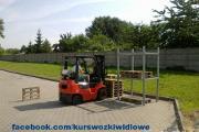 Zdjęcie do ogłoszenia: Kurs wózki widłowe. Sieradz, Zduńska Wola, Poddębice, Złoczew.