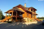 Zdjęcie do ogłoszenia: Elewacje domów budynku z drewna