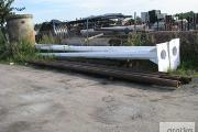 Zdjęcie do ogłoszenia: Maszt , słup stalowy 10m pod siłownię wiatrową 10 kW