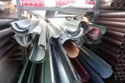 Zdjęcie do ogłoszenia: Wyprzedaż rynny metalowe oraz plastikowe - TANIO.