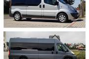 Zdjęcie do ogłoszenia: Wynajem BUSa 8,9,17 rozwożenie gości weselnych Transport osób kierowca WESELE