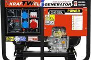 Zdjęcie do ogłoszenia: Agregat prądotwórczy trójfazowy KRAFTWELE SDG16000 11.2kW!