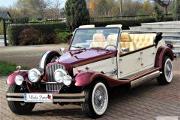 Zdjęcie do ogłoszenia: Luxusowe Samochody do ślubu Zabytkowe auto na ślub RETRO samochody do wynajęcia na ślub Limuzyny weselne Samochód ślubny Kabriolet Excalibur