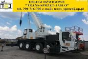 Zdjęcie do ogłoszenia: Usługi dźwigowe dźwig 35 ton 50 ton 70 ton 130 ton