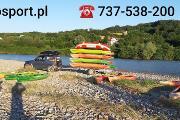 Zdjęcie do ogłoszenia: Spływy kajakowe i pontonowe Dunajcem
