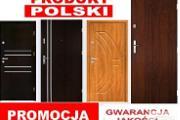 Zdjęcie do ogłoszenia: Drzwi wejściowewewnątrzklatkowe do mieszkania w bloku i domu z montażem ZEWNĘTRZNE drewniane i metalowe