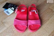 Zdjęcie do ogłoszenia: Sandały dziecięce czerwone rozmiar 24 wkładka 15,5cm