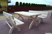Zdjęcie do ogłoszenia: Meble ogrodowe restauracje knajpy itp producent - komplet