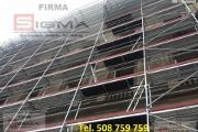 Zdjęcie do ogłoszenia: Nowe Rusztowania Elewacyjne 262m2 od 9495 zł Każdy Typ Producent SIGM