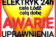 Zdjęcie do ogłoszenia: ELEKTRYK ŁÓDŹ 24h/7 AWARIE-UPRAWNIENIA